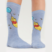 Womens Winnie the Pooh Eeyore and Piglet Novelty Socks